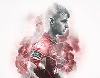 Shelbourne Football Club weekly graphic package.