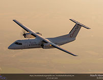 FlyCemAir Air-to-Air Shoot: Dash-8 Q300