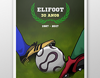 Elifoot game poster.