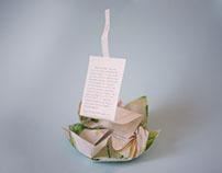 Flor - Invitación de boda