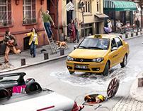 Allianz 1001 campaign ad.