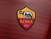 AS Roma 90th Anniversary Jersey Design.