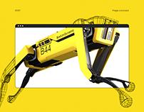Boston Dynamics Spot / Page Concept
