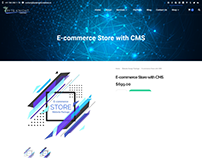 E-commerce Store With CMS Package ($699/year)
