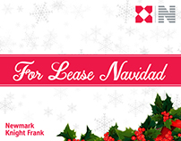 Newmark Knight Frank | Christmas Party Invitation