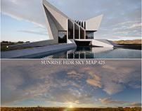 Sunrise Light Test Modern Villa