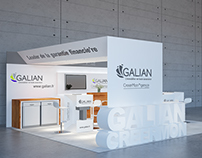 GALIAN booth in paris