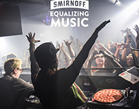 Smirnoff: Equalizing Music