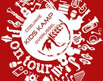 T-shirt ontwerp Coeliakie Kids Kamp 2016