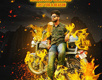 Fire Poster Design