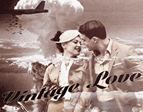 Vintage/ 1940s collage and manipulation
