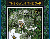 THE OWL & THE OAK Cabernet Sauvignon Wine Label