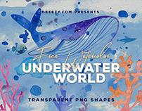 FREE Watercolor Underwater World