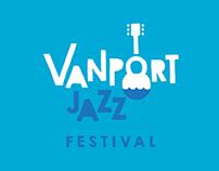 Vanport Jazz Festival Brand Identity