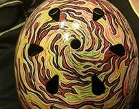 Zombie Wolf Helmet