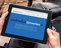 Website Goudzwaard lijmwerken bv