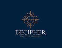 Decipher Linguistic Solutions Logo Design - Designrar