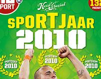 Cover NUsportmagazine, Kerstspecial