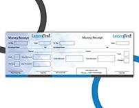 Money Receipt Design