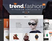 Trend Fashion - Multipurpose PSD Templates