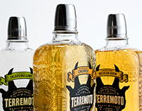 Branding and packaging for Terremoto tequila