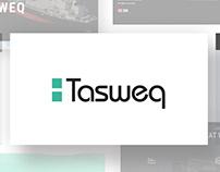 Tasweq Minimal Website