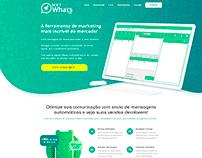 Layout Site WhatsApp Marketing Turbo - 2020