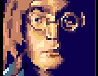 Pixel Portrait - john Lennon