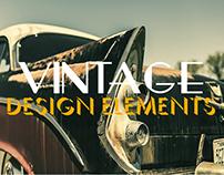 40+ Vintage Design Elements