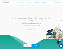 Animated User Journey Website