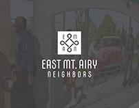 East Mt. Airy Neighbors Rebrand