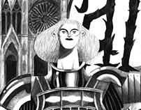 Jeanne d'Arc illustration 2017
