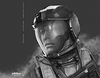 Call Of Duty Infinite Warfare official soundtrack art.