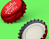 Bottle Cap Mockup PSD Free Download for Branding