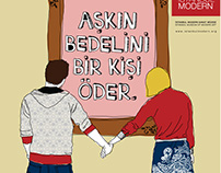 Illustrations for Istanbul Modern