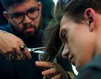 Fotografia e vídeo de barbearia