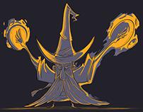 Character Design - Wizard