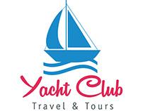 Yacht Club Travel & Tours Logo Design