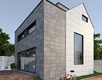 Exterior for Kerranova - Cement lime. nicepictureco.com