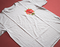 1340 Collective Co. Rose T-Shirt