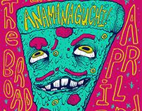 Anamanaguchi Gig Poster