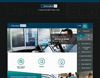 Website for Danske Bank IT People