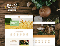 Farm Agrico | Agricultural Business WordPress Theme