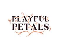 PLAYFUL PETALS logo presentation