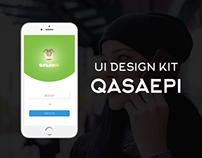 Qasaepi UI Design