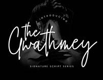 Free The Gwathmey Signature Script Font