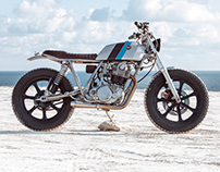 Bunker Customs Yamaha SR500