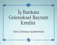 IS BANKASI - Bayram Kredisi