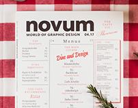 novum 04.17 »dine & design«