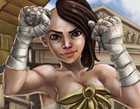 La Batailleuse d'Adamantis - Core Of Legends